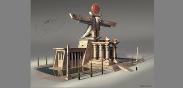Temple of Horus Minecraft Map & Project