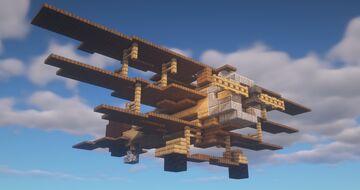 Triplane - 'Kite' Minecraft Map & Project