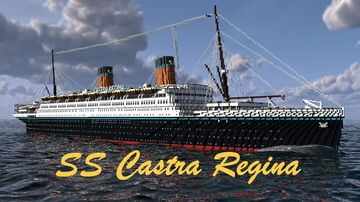 SS Castra Regina Minecraft Map & Project