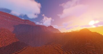 MARS -  Cold Desert Planet [3,072 x 3,072] Minecraft Map & Project