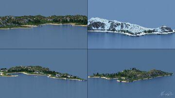 Terraforming - Archipelago 5k * 5k Minecraft Map & Project