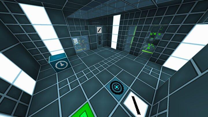 A screenshot of a level
