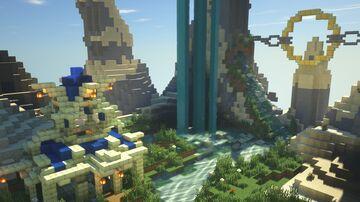 Dramatic Lobby / spawn, fundamentals Minecraft Map & Project