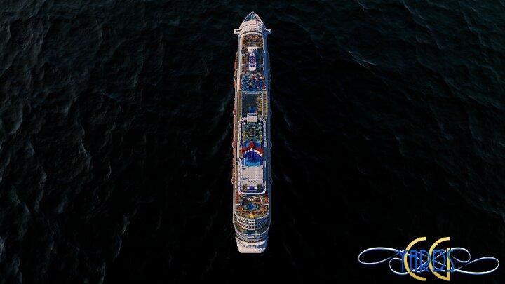 Carnival Horizon  Aerial