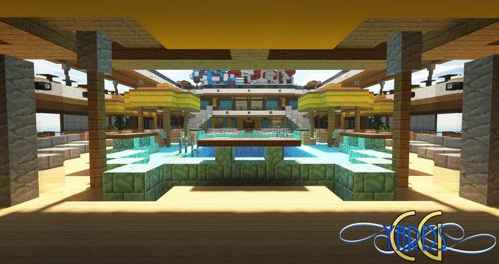 Resort Pool Deck