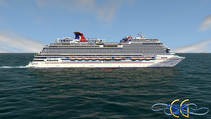 Carnival Horizon  Starboard Side