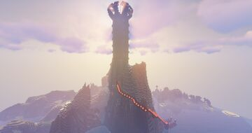 The Nether Spire Minecraft Map & Project