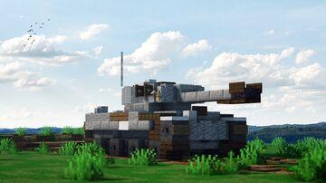 """Tiger VI  """"Tiger I"""" Minecraft Map & Project"""