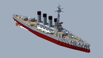 Slava-class battleship Minecraft Map & Project
