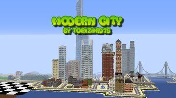 Modern City![1.15+] Minecraft Map & Project