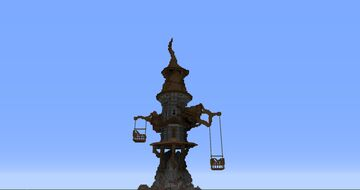Cartoon Tower ( FREE DOWNLOAD ) Minecraft Map & Project