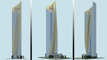 Al Hamra Tower | Kuwait City Minecraft Map & Project
