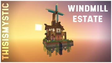 One Chunk Challenge | Windmill Estate Minecraft Map & Project