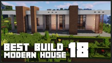 Best Modern House in Minecraft? | Subscribe MEEK + Download Minecraft Map & Project