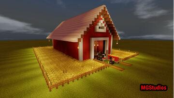 Mr Benz Barn Bedrock Minecraft Map & Project