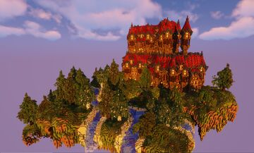 The Lonely Mansion - A Woodland Retreat Minecraft Map & Project