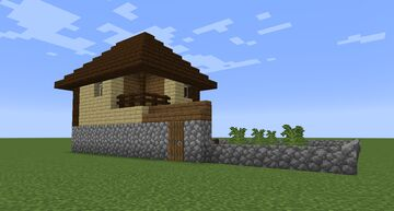 Bulgarian House (Survival Friendly Build) Minecraft Map & Project