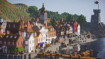 English Harbor - 19th Century Minecraft Map & Project