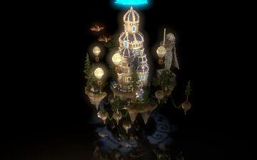 Floating Hub Island Minecraft Map & Project
