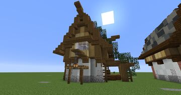 Medieval Houses Minecraft Map & Project
