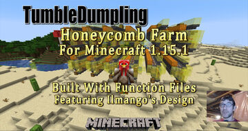Honeycomb Farm for Minecraft 1.15.1 (Uses Function Files) Minecraft Map & Project