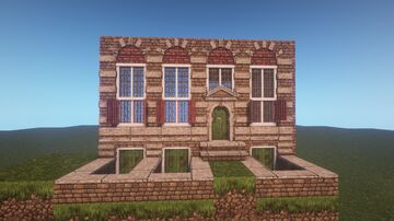 conquest reforged and chisel and bits 17th century amsterdam Minecraft Map & Project