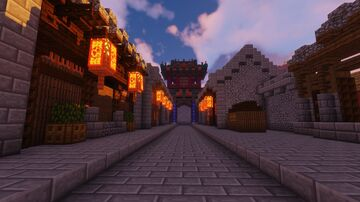 Chinese Buildings Minecraft Map & Project