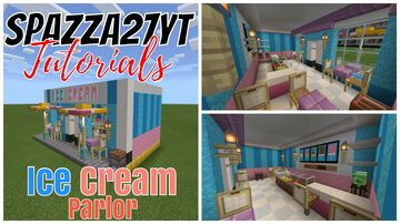 Small Shops #18 Ice Cream Parlor Minecraft Map & Project