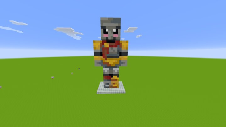 Popular Map : The House of Arcaniax Iron Golem Statue