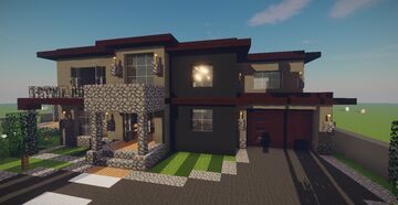 Modern House #49 Minecraft Map & Project