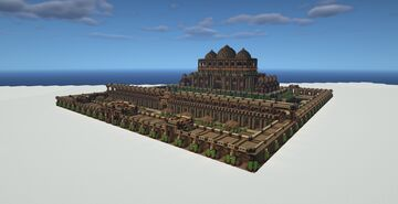 Mughal Wooden Castle Minecraft Map & Project