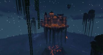 Floating Castle Minecraft Map & Project