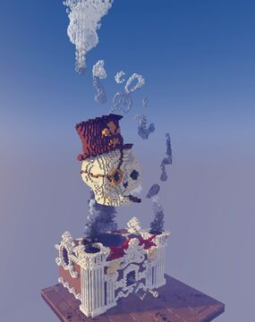 The Smoking SKULL Minecraft Map & Project