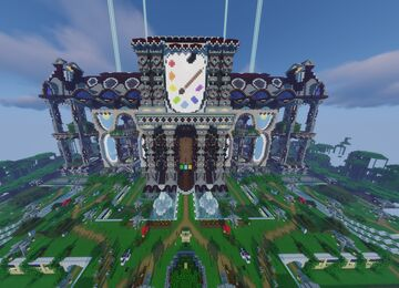 The Grand Art Hall Minecraft Map & Project