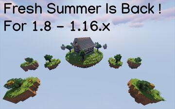 Fresh Summer Skywars 1.8 4-8 Minecraft Map & Project