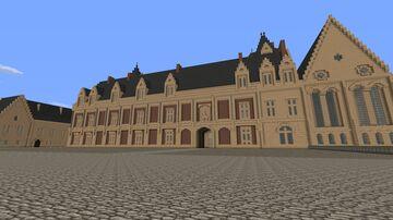 Chateau de Blois Minecraft Map & Project