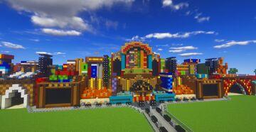 Minecraft | Tomorrowland 2019 Mainstage + Lotus Stage | Minerbuilder Minecraft Map & Project