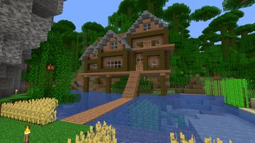Jungle House | Full PvP 1 | SkyCraft Minecraft Map & Project