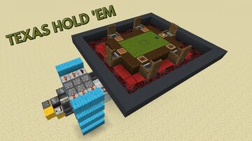 Redstone Poker Table Minecraft Map & Project