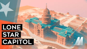Texas Capitol Minecraft Map & Project