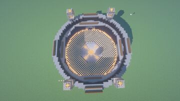 popularmmos arena with armor and enchantments Minecraft Map & Project