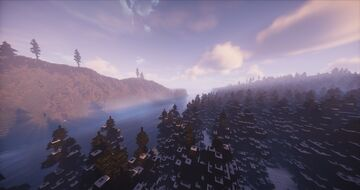 Norway Inspired Fjords Java and Bedrock Minecraft Map & Project