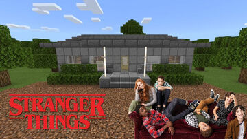 The Driscoll Home (Stranger Things) Minecraft Map & Project