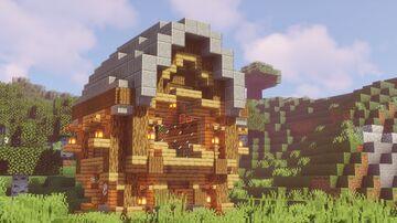 Oak Survival House Tutorial   rivalkz Minecraft Map & Project