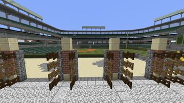 Oriole Park at Camden Yards Minecraft Map & Project