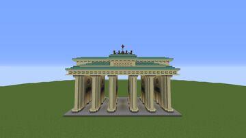 Brandenburg Gate - Brandenburger Tor Minecraft Map & Project
