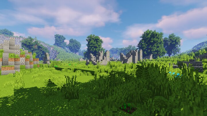 Ruins in the Capital Valley