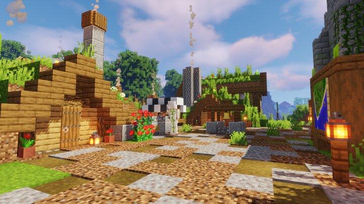 The sleepy village of Drabyel