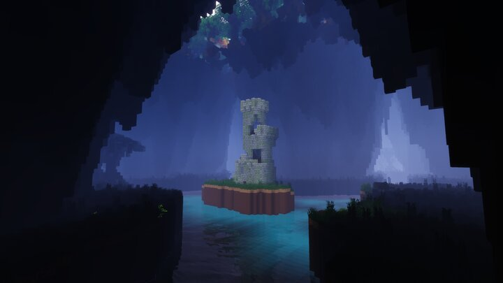 A tower in the chasms of the Heartwood