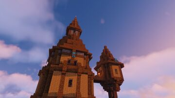 Tower / Enchanting Tower Minecraft Map & Project